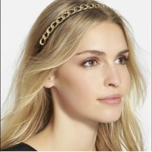Free People Golden Child Chain Headband